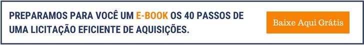 ebook 40 passos de licitações capacitar