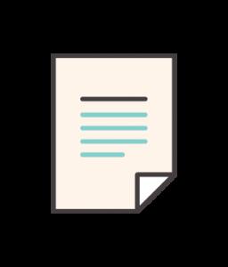 Modelo de formulário de avaliação de cursos ou ficha reativa